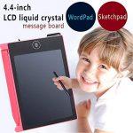 Hanbaili LCD Writing Tablet, conseil d'écriture électronique 4,4 pouces, le bloc-notes avec le stylet portable écriture manuscrite pour les enfants et les adultes à la maison, l'école et travail de bu de la marque Tiptiper image 2 produit