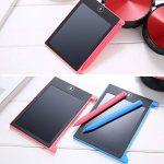 Hanbaili LCD Writing Tablet, conseil d'écriture électronique 4,4 pouces, le bloc-notes avec le stylet portable écriture manuscrite pour les enfants et les adultes à la maison, l'école et travail de bu de la marque Tiptiper image 3 produit