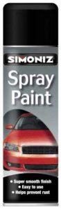 Holts loysimp16C Simoniz Produit Peinture en spray, 500ml, noir mat satiné de la marque Holts image 0 produit