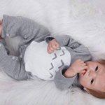 HOOMAI 22inch 55 CM pas cher Poupées reborn bébé garcon soft Silicone réaliste reborn baby dolls Magnétisme Jouet girls toy de la marque HOOMAI image 2 produit