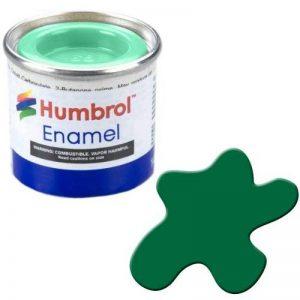 Humbrol 14ml N ° 1Tinlet é mail Peinture 120Vert clair (Mat) de la marque Humbrol image 0 produit