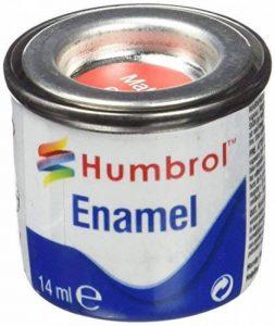 Humbrol 14ml N ° 1Tinlet é mail Peinture 60(Scarlett Mat) de la marque Humbrol image 0 produit