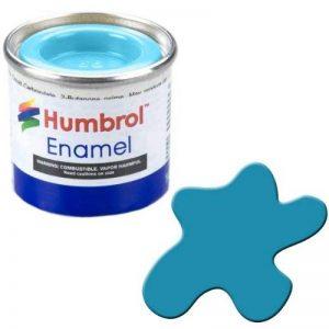 Humbrol 14ml N ° 1Tinlet é mail Peinture Bouteille 48bleu mé diterrané en (brillant) de la marque Humbrol image 0 produit