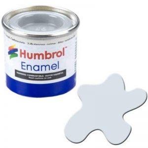 Humbrol 14ml N ° 1Tinlet Peinture émail 191(Chrome Argent métallique) de la marque Humbrol image 0 produit