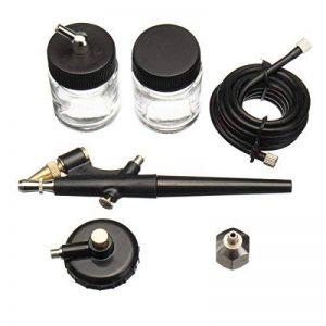 ILS - Mini Airbrush Spray Kit 22cc Ink Cup Hose Airbrush Paint Art Tool Kit Painter de la marque ILS. image 0 produit