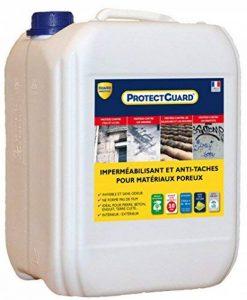 Imperméabilisant Hydrofuge, oléofuge pour matériaux poreux Guard Industrie PROTECTGUARD 10L de la marque Guard Industrie image 0 produit