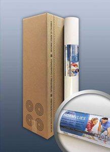 Intissé de rénovation revêtement non-tissé de lissage 150 g Profhome NormVlies 299-150 intissé à peindre professionnel | 4 rouleaux 75 m2 de la marque E-DELUX image 0 produit