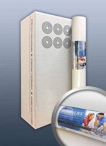 Intissé de rénovation revêtement non-tissé de lissage 150 g Profhome NormVlies 299-150 intissé à peindre professionnel | 6 rouleaux 112,5 m2 de la marque E-DELUX image 0 produit