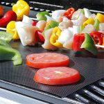 Kingnew Barbecue Tapis Lot de 5tapis de barbecue électrique pour barbecue de foyer réutilisable anti-adhésif durable et facile à nettoyer de la marque Kingnew image 2 produit