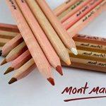 Kit de crayons de couleur pour artiste couleur chair MONT MARTE – 12pce – Idéal pour des portraits vivants de la marque Mont Marte image 2 produit