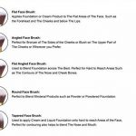 Kit de Pinceau maquillage Professionnel 10 PCS Ombre à Paupière Doré Blush Fondation Pinceau Poudre Fond de teint Anti-cerne Kit Pinceaux avec sac de la marque SUNNICY image 3 produit