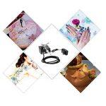KKmoon 100-250V Gravité Professionnelle Double Action Airbrush Kit Compresseur d'Air pour Tatouage Manucure Craft Spray Modèle Nai,l Ensemble d'Outils de Peinture d'Art de la marque KKmoon image 4 produit