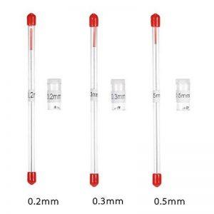 KKmoon 3PCS 0,2mm/0,3mm/0,5mm Buse Airbrush et Needle Remplacement pour Aérographes Pistolet Pulvérisateur Modèle de Pulvérisation de Peinture Outil de Maintenance Accessoires de la marque KKmoon image 0 produit