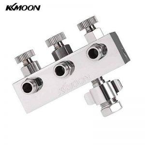 KKmoon Séparateur 3-Voies Tuyau d'Air de l'Aérographe pour le Pistolet à Peinture de la marque KKmoon image 0 produit
