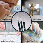 Kolinsky feines Kit pinceaux pour aquarelle, acrylique et huile–AL6 de la marque Merdin image 2 produit