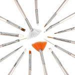 Kyerivs Kit de Nail Art Manucure Autocollants à Ongles-Diamant Décoration Ongle d'Art Nail Sticker et 15 Pinceaux Nailart de la marque Kyerivs image 1 produit
