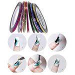 Kyerivs Kit de Nail Art Manucure Autocollants à Ongles-Diamant Décoration Ongle d'Art Nail Sticker et 15 Pinceaux Nailart de la marque Kyerivs image 4 produit