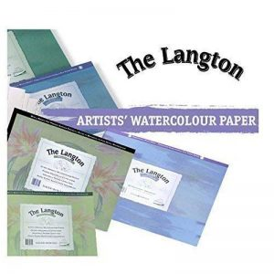 """Langton 140lb Gummed Watercolour (NOT) Block 10 x 7"""" de la marque Daler Rowney image 0 produit"""