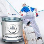 lausitzer Couleur Werke Cabine 2/piscine/Couleur pour plastique, plastique et polyester + durcisseur Set 2composants en bleu, blanc, vert et tous les RAL, blanc de la marque Lausitzer Farbwerke image 1 produit