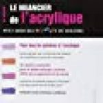 Le nuancier de l'acrylique: Petit guide des mélanges de couleurs. de la marque Ian Sidaway image 1 produit