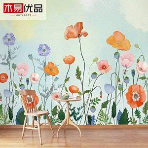 Le papier peint chambre à coucher salon Tv Contexte aquarelles, de coutures, de papier texture tridimensionnelle (M2) de la marque SD image 0 produit