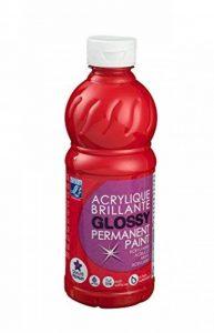 Lefranc & Bourgeois acrylique glossy 500ml rouge vif de la marque Lefranc & Bourgeois image 0 produit