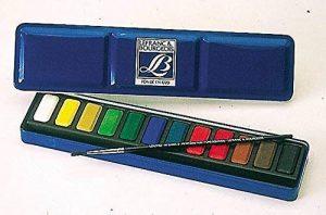 Lefranc Bourgeois Boîte de 12 Peintures Aquarelles de la marque Lefranc & Bourgeois image 0 produit