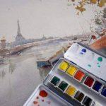 Lefranc Bourgeois - Boîte de 24 Peintures Aquarelles avec Palette Détachable de la marque Lefranc & Bourgeois image 1 produit