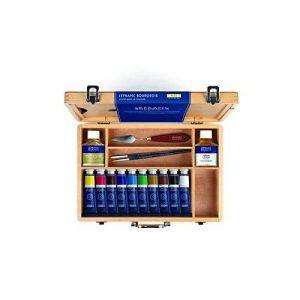 Lefranc & Bourgeois Boîte l'huile extra fine, Mehrfarbig, 10 feine Ölfarben im Set de la marque Lefranc & Bourgeois image 0 produit