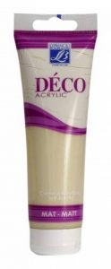 Lefranc Bourgeois Peinture Déco crème d'acrylique mat 120 ml Crème de lait de la marque Lefranc & Bourgeois image 0 produit