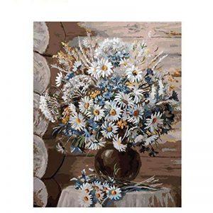 Lhz DIY Peinture à l'huile par numéros Kits Thème–Digital Kits de peinture à l'huile sur toile PBN pour adultes enfants Enfants anniversaire, mariage ou de nouveaux logements, décorations de Noël Décorations cadeaux -16* 50,8cm de la marque LHZ image 0 produit