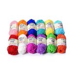 LIHAO Mini Pelotes de Laine Multicolores en Acrylique pour Tricot, les Loisirs Créatifs - (Lot de 12pcs, 26m/rouleau, 15g/rouleau) de la marque LIHAO image 2 produit