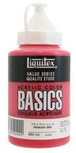 Liquitex Basic Peinture acrylique 400 ml Rouge Primaire de la marque Liquitex image 0 produit