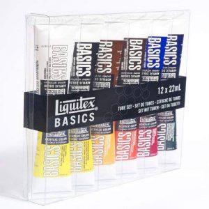 Liquitex BASICS ® Aktion - Set de 12 tubes de peintures acryliques de 22ml de la marque Unbekannt image 0 produit