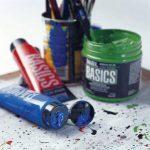Liquitex Basics Pack de 12 Tubes de Peintures acryliques 22 ml Couleurs Assorties de la marque Liquitex image 2 produit