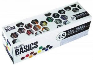 Liquitex Basics Pack de 48 Tubes de Peintures acryliques 22 ml Couleurs Assorties de la marque Liquitex image 0 produit
