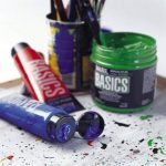 Liquitex Basics Pot de Peinture acrylique 946 ml Rouge de cadmium foncé Imitation de la marque Liquitex image 2 produit