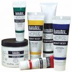 Liquitex Professional Heavy Body Tube de Peinture acrylique 59 ml Noir d'ivoire de la marque Liquitex image 2 produit