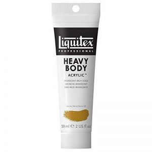 Liquitex Professional Heavy Body Tube de Peinture acrylique 59 ml Or Riche Iridescent de la marque Liquitex image 0 produit