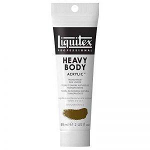 Liquitex Professional Heavy Body Tube de Peinture acrylique 59 ml Terre d'ombre naturelle transparente de la marque Liquitex image 0 produit