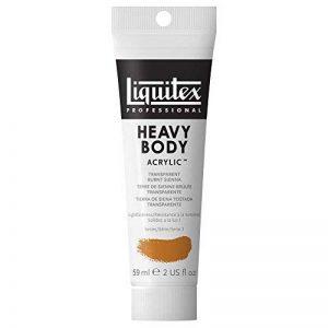 Liquitex Professional Heavy Body Tube de Peinture acrylique 59 ml Terre de sienne brûlée transparente de la marque Liquitex image 0 produit