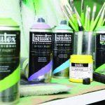 Liquitex Professional Peinture Acrylique Aérosol 400 ml Bleu Phtalocyanine/Nuance Vert de la marque Liquitex image 1 produit