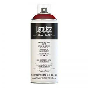 Liquitex Professional Peinture Acrylique Aérosol 400 ml Rouge de Cadmium Clair Imitation n°2 de la marque Liquitex image 0 produit