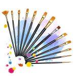 LiSmile 13 Pinceaux de Peinture Sets de Brosses pour Peinture à l'Huile, Aquarelle, Gouache, Acrylique de la marque LiSmile image 5 produit