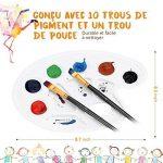 LiSmile 13 Pinceaux de Peinture Sets de Brosses pour Peinture à l'Huile, Aquarelle, Gouache, Acrylique de la marque LiSmile image 4 produit