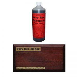 littlefair respectueux de base d'eau Bois teinte & Dye 250ml Very Red Mahogany de la marque Littlefair's image 0 produit