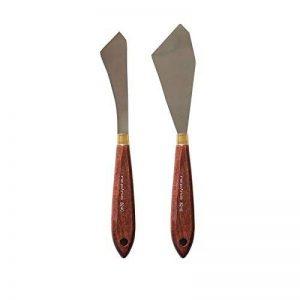 Lot de 2 couteaux à peindre repino 8291, spatules Artiste Spatule de la marque repino® image 0 produit