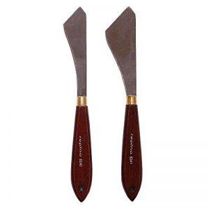 Lot de 2couteaux à peindre, spatules Artiste Spatule pour huile et acrylique de la marque repino image 0 produit