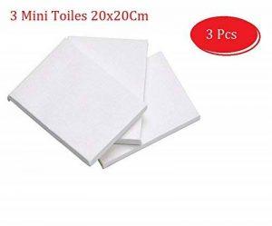 Lot de 3 Mini Toiles Châssis entoilé - Toile à peindre - Toiles:100 % Coton - appretée en blanc EMI CRAFT de la marque EMI Craft image 0 produit