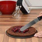 Lot de spatules à pâtisserie Chefarone - 2 spatules coudées et 1 spatule droite - Couteaux lisses pour glaçage et nappage, Lot de 3 de la marque Chefarone image 1 produit